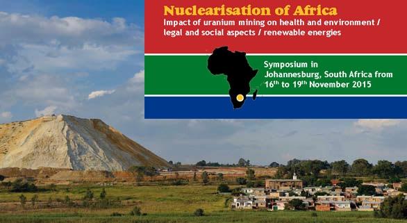 International Nuclearisation of Africa Symposium