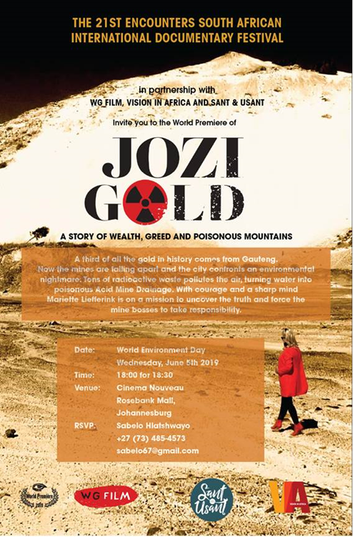 The 21st Encounters South African International Documentary Festival