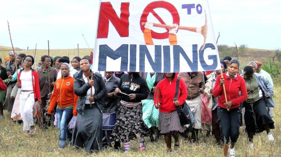 Mining activists in SA face death threats, intimidation and harassment