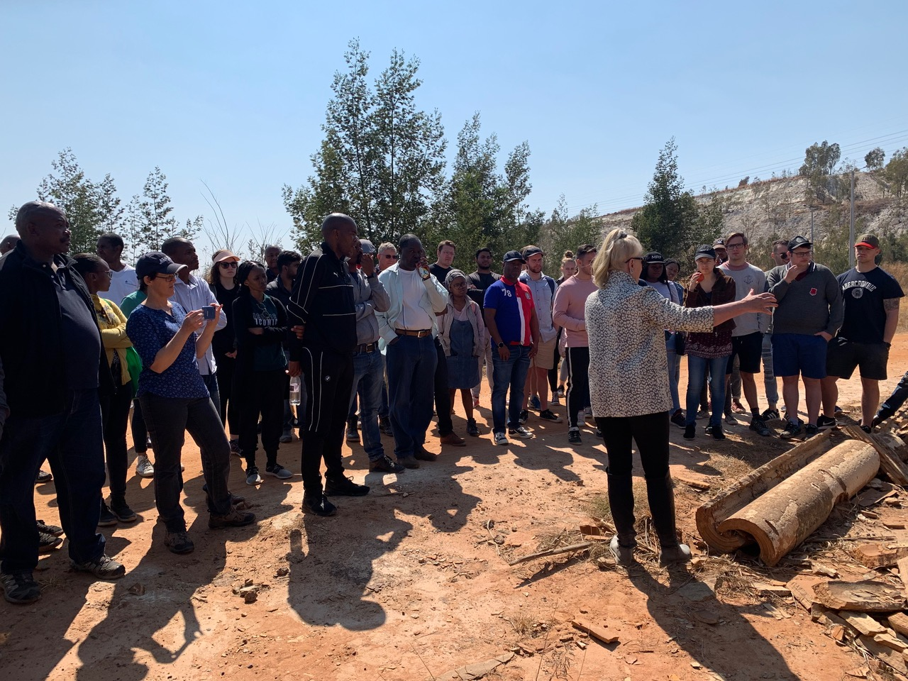 Tour of the West Rand Gold Field with Law Faculty Students – 31 August